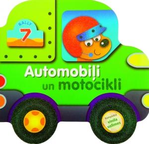 Automobiļi un motocikli (komplektā vinila uzlīmes)