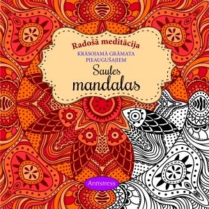 Saules mandalas. Radošā meditācija