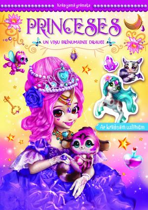 Princeses un viņu brīnumainie draugi. Krāsojamā