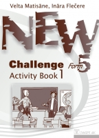 Velta Matisāne, Ināra Flečere - New Challenge Form 5. Activity Book 1