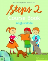 Zane Kremptone, Maruta Sila - Steps 2. Course Book + CD